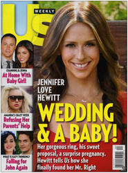 Jennifer Love Hewitt Us Weekly 6-17-13 Issue Wedding & Baby Cover + Full Article HQ Scans