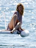 Doutzen Kroes on a yacht for a photoshoot in Cannes during the 62nd Film Festival - Hot Celebs Home