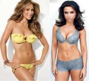 Lacey Chabert & Jennifer Love Hewiit standing Side By Side