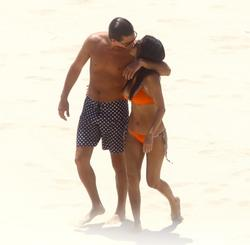 Kourtney Kardashian in orange bikini on Mexico holiday - Hot Celebs Home