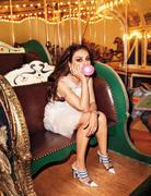 Мила Кунис, фото 1974. Mila Kunis - Harper's Bazaar April 2012 / (MQ), foto 1974,