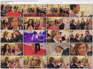 Inna & Alexandra Stan - Interview Red Carpet (The Dome 59-H264-1080i)