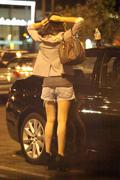 Amanda Bynes - smoking and driving while out in Los Angeles 09/11/12