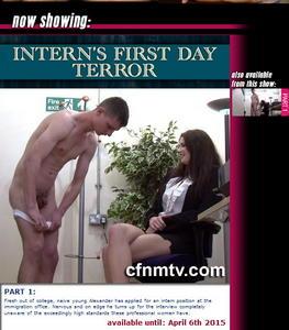cfnmtv: Intern's First Day Terror