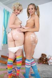 [MilkEnema] Chastity Lynn and Proxy Paige