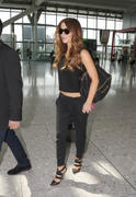 Kate Beckinsale at Heathrow Airport in London 07/17/14
