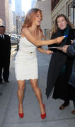 Поппи Монтгомери, фото 359. Poppy Montgomery - at the Early Show in New York 02/28/12, foto 359